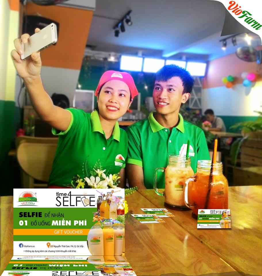 selfie viofarm