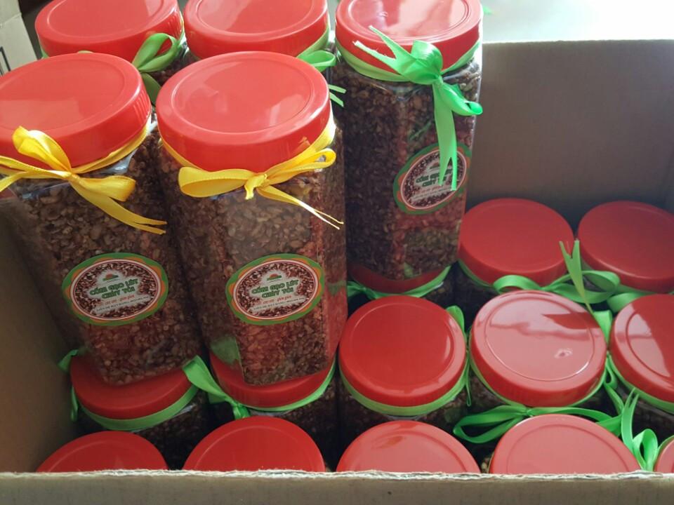 Gạo lứt cháy tỏi VioFarm - Món ăn vặt cực yêu thích của mọi đối tượng