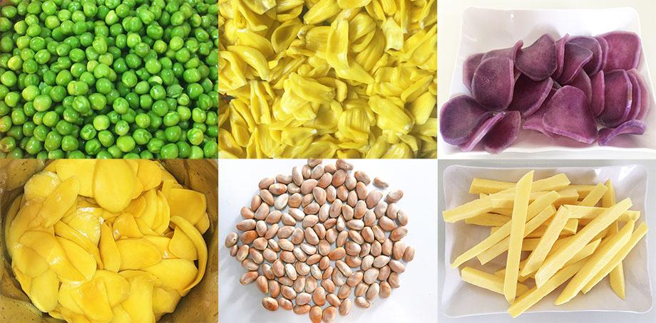 Trong quá trình sản xuất đồ hộp thực phẩm, nhiều loại nguyên liệu cần được xử lý sơ bộ bằng nhiệt. Có nhiều cách xử lý nhiệt: chần, hấp