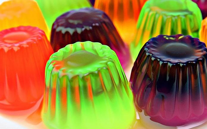 Rau câu là một món ăn nhiều màu sắc