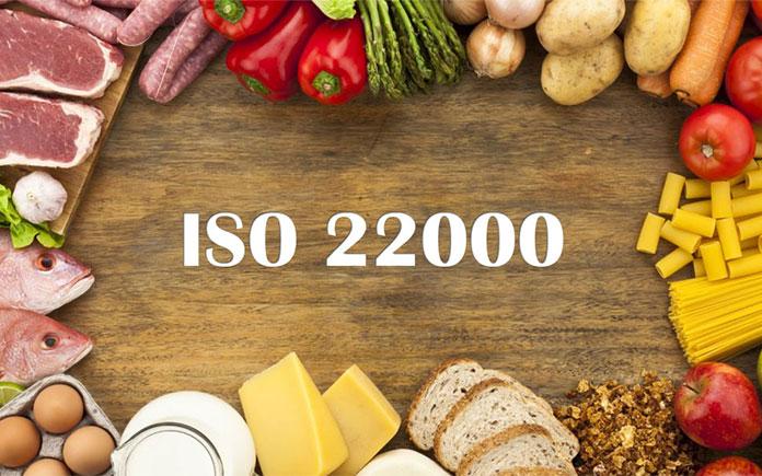 Hệ thống quản lý an toàn thực phẩm ISO 22000 là tiêu chuẩn quốc tế được Tổ chức Tiêu chuẩn quốc tế (ISO) công bố năm 2005 và được thiết kế