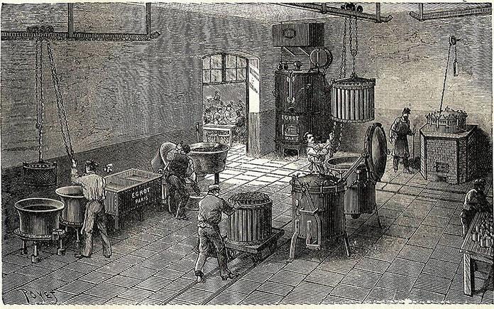 Ngành công nghiệp đồ hộp thực phẩm phát triển mạnh có ý nghĩa to lớn cải thiện được đời sống của nhân dân, giảm nhẹ việc nấu nướng hàng ngày.