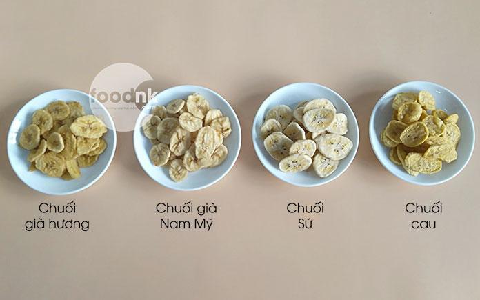 Chuối sấy giòn là sản phẩm rất hút khách hiện nay trên thị trường. Câu hỏi đặt ra là: Loại chuối nào sẽ phù hợp để sản xuất chuối sấy giòn?