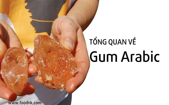 Gum arabic (acacia gum, INS 414) là một loại keo thực phẩm có nguồn gốc tự nhiên được chiết từ nhựa loại cây acacia và đã được sử dụng làm