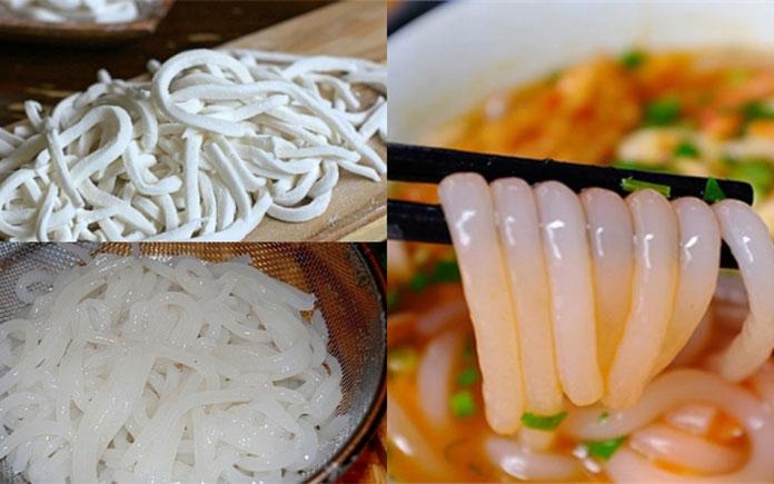 Để hiểu rõ về quy trình, bài viết sau đây sẽ giới thiệu sơ qua về các công đoạn để sản xuất ra những sợi bánh canh bột gạo phổ biến hiện nay