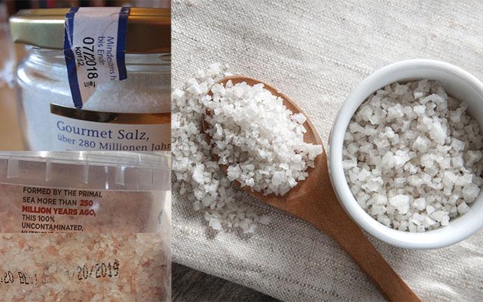 Nguyên nhân khiến muối ăn hết hạn không phải là do bản chất của chúng - NaCl mà thay vào đó, chính các chất phụ gia mà các nhà sản xuất trộn